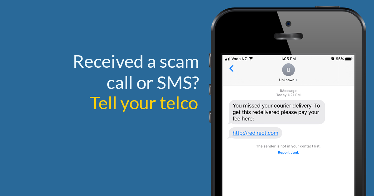 Received A Scam Call Or Text Message Tell Your Telco Tcf